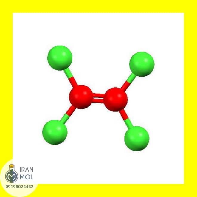 ساختار شیمیایی پرکلرواتیلن